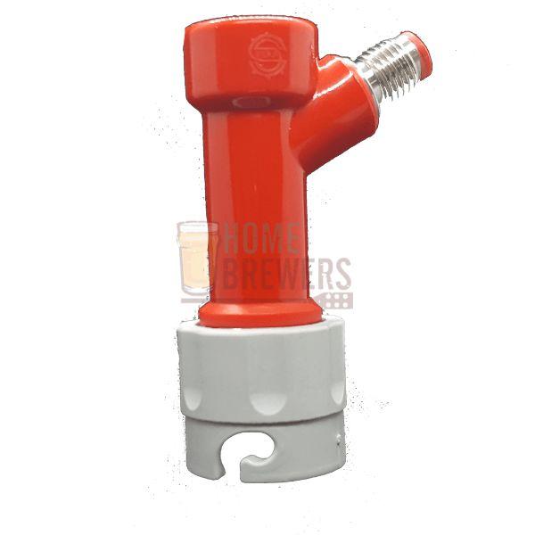 """Conector pin-Lock para gas, rosca 1/4""""MF"""