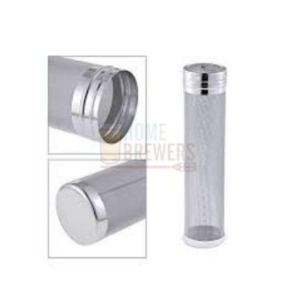 Filtro cilindrico c/ tampa, 300 micra, Ã70x300mm