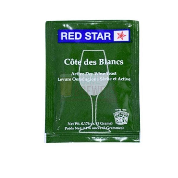 Levedura Red Star Côtes des Blancs