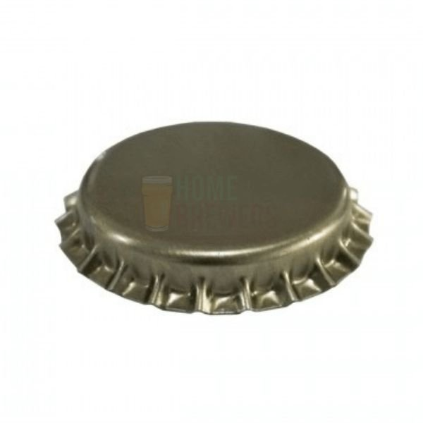 Tampinha metalica pry off dourada 26mm c/ 100g (aprox. 50 un)