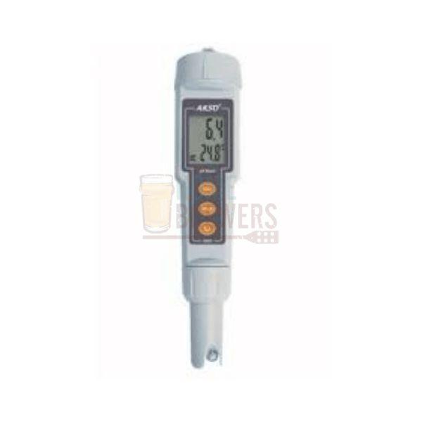Medidor de pH com calibração automática e ATC - KR21