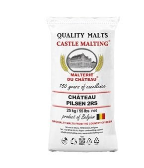 Pilsen- Chateau 2Rs Belga  (Castle malting)