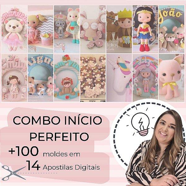 COMBO INICIO PERFEITO - 14 APOSTILAS +100 MOLDES (TEMPO LIMITADO)