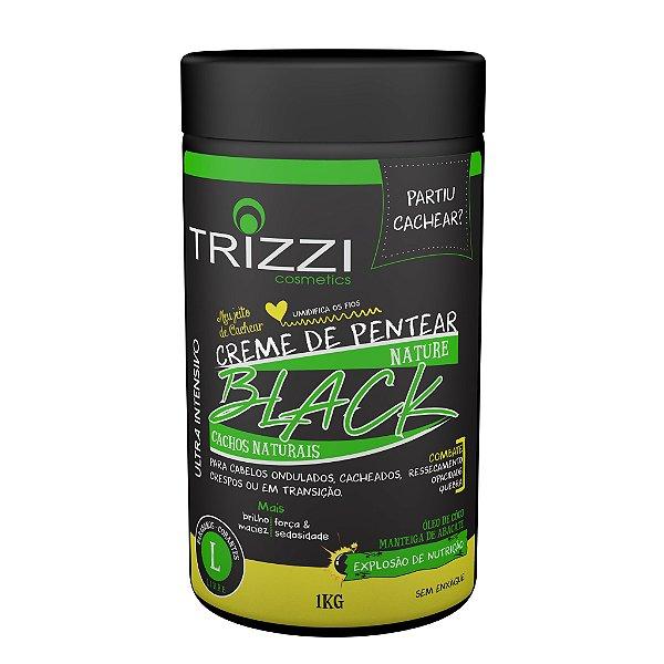 Creme de Pentear Nature Black Cachos Naturais 1kg Trizzi
