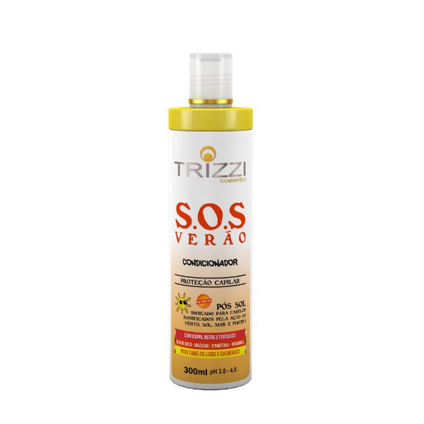 Condicionador SOS Verão 300ml Trizzi
