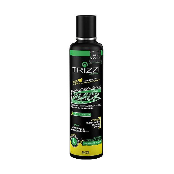 Condicionador Nature Black Cachos 300ml Trizzi