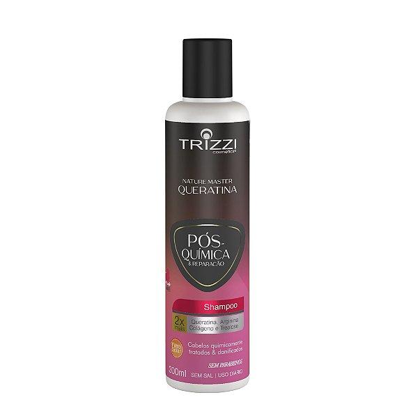 Shampoo Nature Master Queratina Pós Química 300ml Trizzi