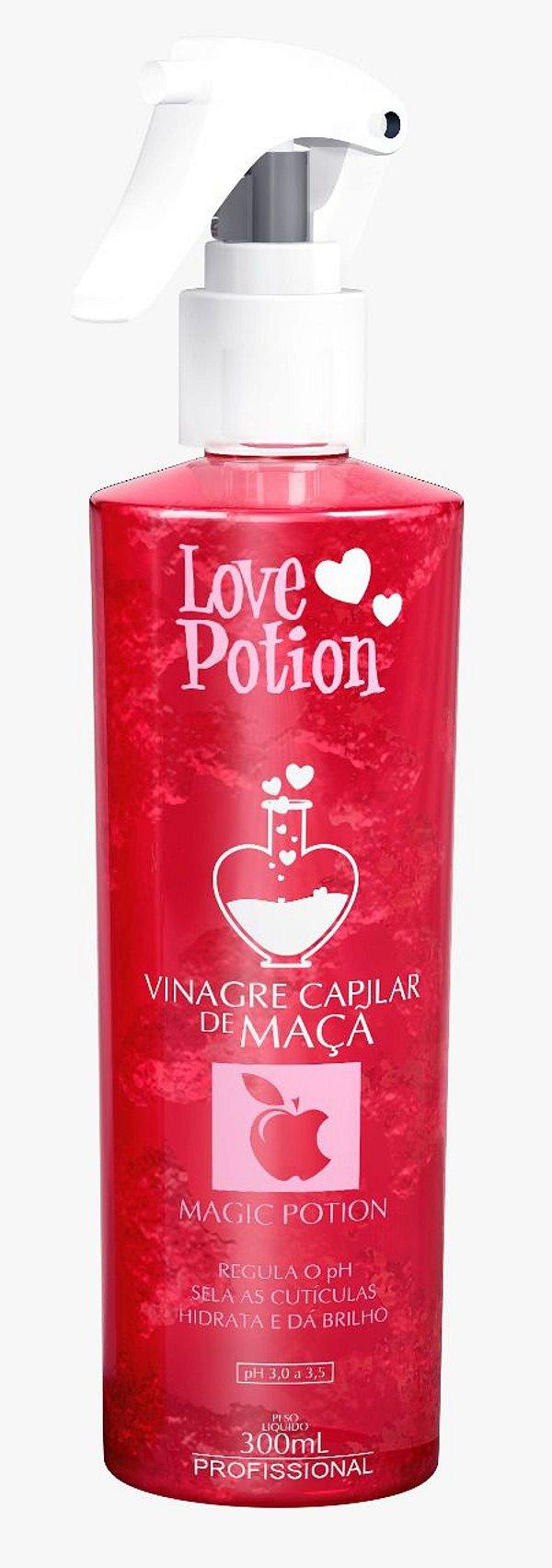 VINAGRE CAPILAR DE MAÇA 300ml - LOVE POTION