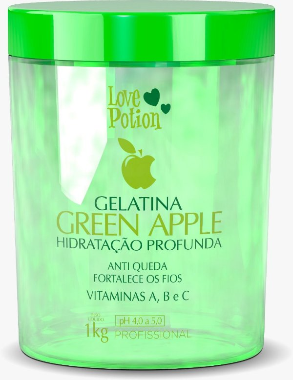 GELATINA GREEN APPLE -  1kg