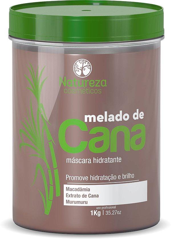 MÁSCARA MELADO DE CANA 1 KG - NATUREZA COSMÉSTICOS