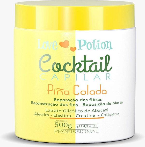 MÁSCARA PINÃ COLADA COCKTAIL CAPILAR - 500G  LOVE POTION