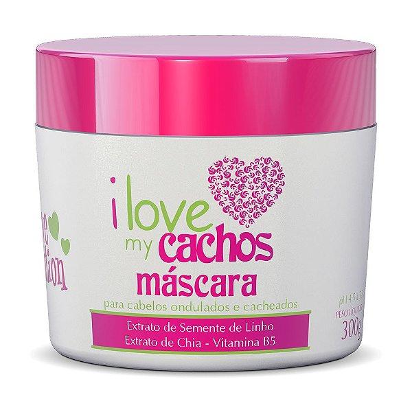 MÁSCARA - I LOVE MY CACHOS 300G - LOVE POTION
