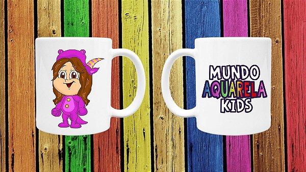 CANECA AQUARELA - MUNDO AQUARELA KIDS