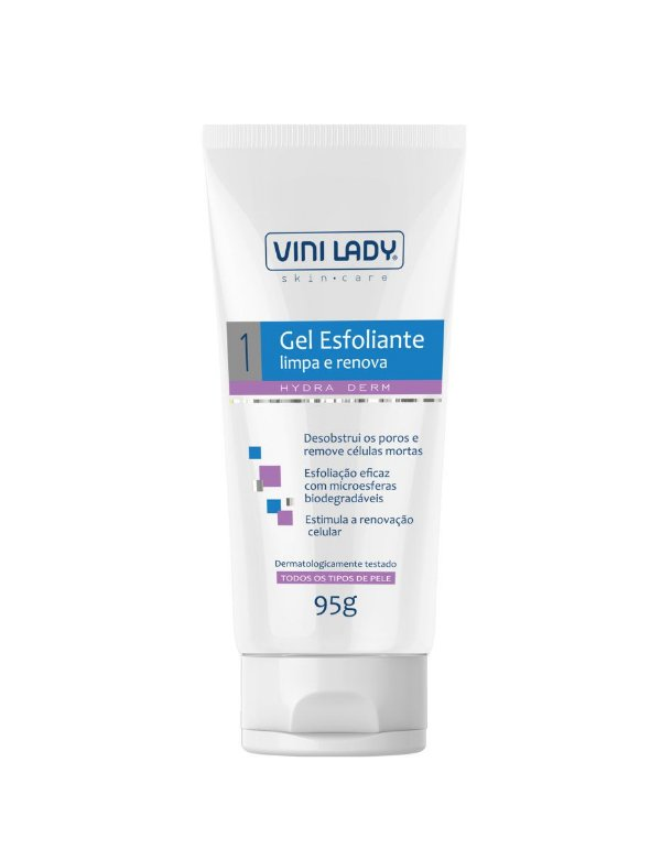 Gel Esfoliante Facial Hydra Derm Limpa e Renova 95gr