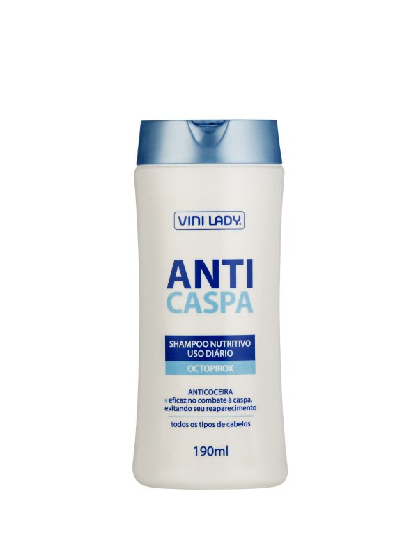 Shampoo Anticaspa Nutritivo 190ml