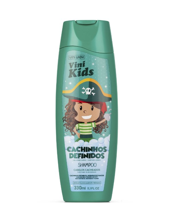 Shampoo Vini Kids Cachinhos Definidos 330ml