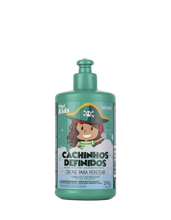 Creme de Pentear Infantil Vini Kids Cachinhos Definidos 290gr