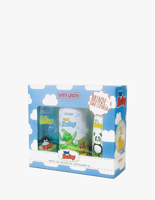 Kit Vini Baby Azul com Brinde - Edição Especial