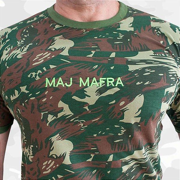 Camiseta Camuflada Padrão EB Com nome Bordado