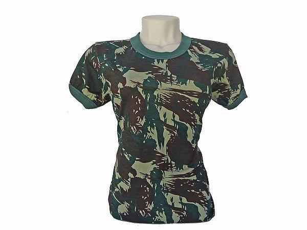 Camiseta Camuflada - Feminina