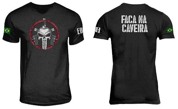 Camiseta Faca na Caveira
