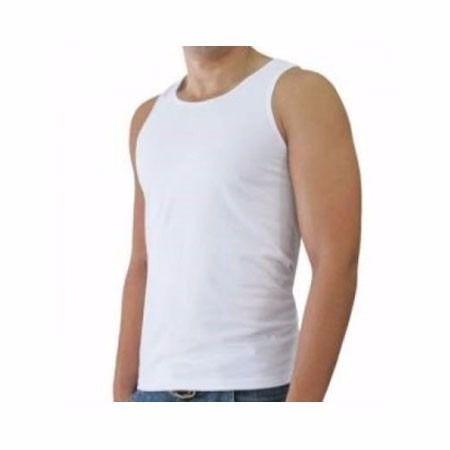 Camiseta Regata Branca Para TFM