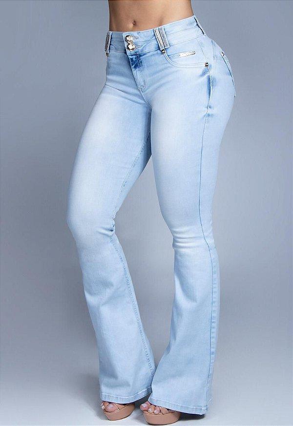 Calça Flare Pit Bull Jeans Ref. 30804