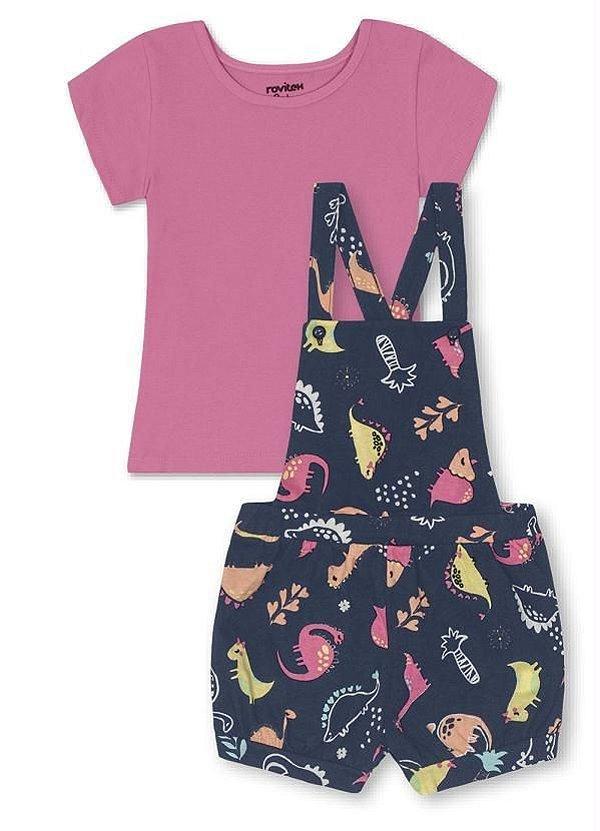 ◼ Kit ARCO IRIS Rovitex Kids Verão - Composto por: 34 peças, Grade: 01 ao Maior (Podendo conter alguma peça tamanho bebê!), Sendo: Conjuntos, Vestidos e Avulsas - CÓD. 106 - IMAGENS ILUSTRATIVAS