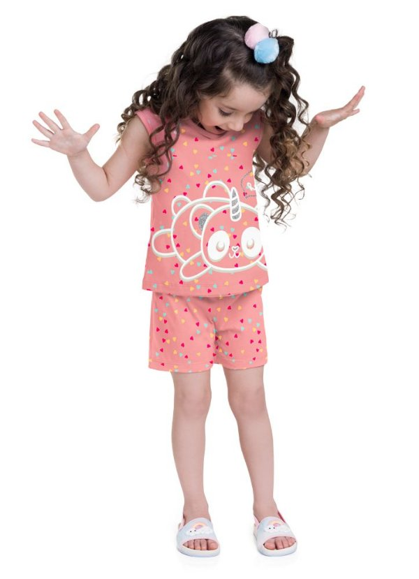 ◼ Kit Brandili Pijamas PRIMAVERA/VERÃO 2021 - Composto por: 30 peças, Grade: 1 ao 16, Sendo: Apenas Conjuntos - CÓD. 230 - IMAGENS ILUSTRATIVAS