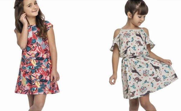 Kit Vestidos Lançamento Marisol Play com 30 pecas