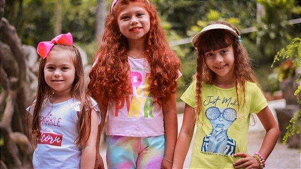 ◼ Kit Mia Kids Verão - Composto por: 70 peças, Grade: 1 ao 12, Sendo: Apenas Conjuntos. IMAGENS ILUSTRATIVAS
