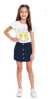 ◼ Kit Fakini Kids Lançamento - Composto por: 100 peças, Grade: P ao Maior, Sendo: Conjuntos e Vestidos. IMAGENS ILUSTRATIVAS