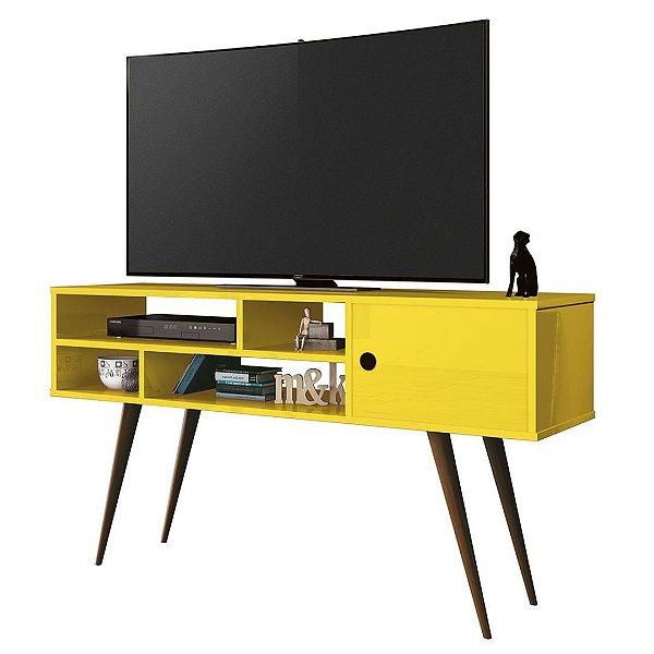 Rack para TV até 46 Polegadas Kenzo Amarelo