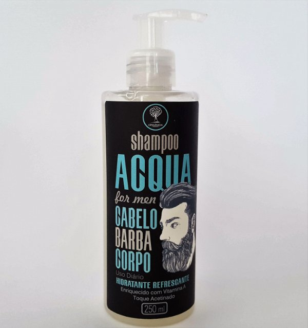 Shampoo - Acqua For Men 3 em 1 - 250ml