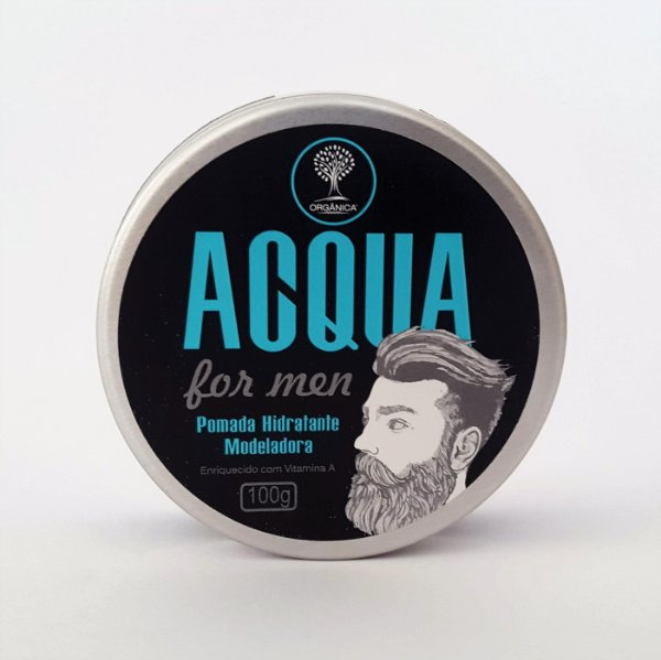 Pomada Modeladora Acqua for Men - 100g