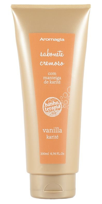 Banhoterapia - Vanilla Nuts e Karite Sabonete Cremoso 200ml