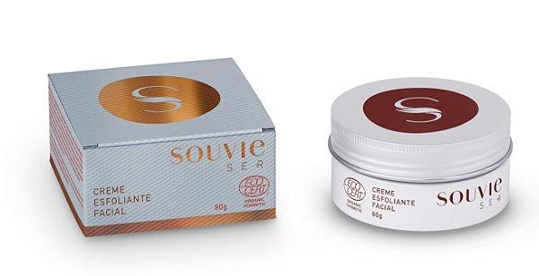 Creme Esfoliante Facial Orgânico Ser+ 80g