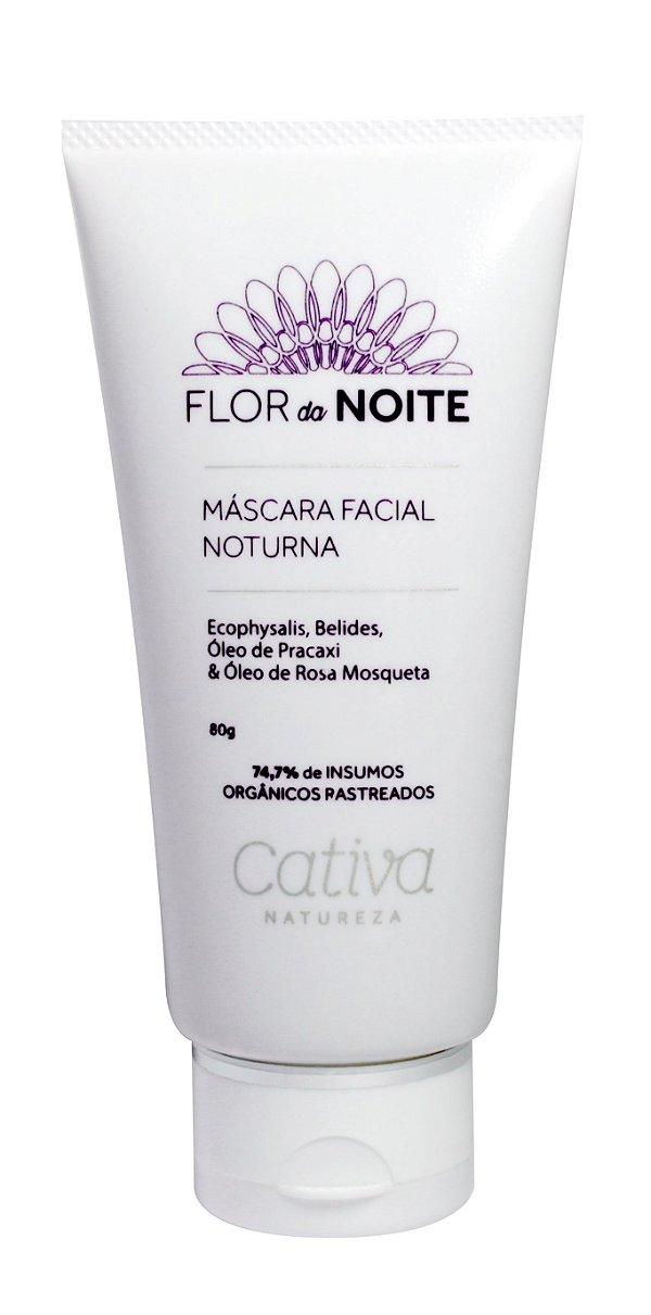 Máscara Facial Noturna Flor Da Noite 80g