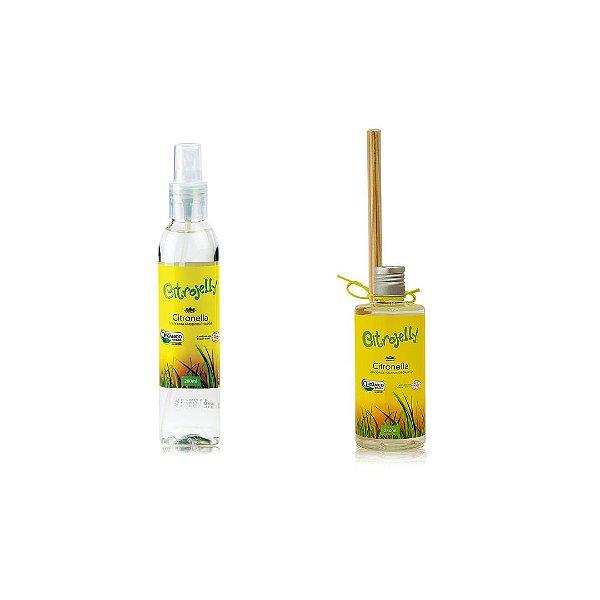 Kit difusor de aromas e spray ambientes citrojelly - Wnf