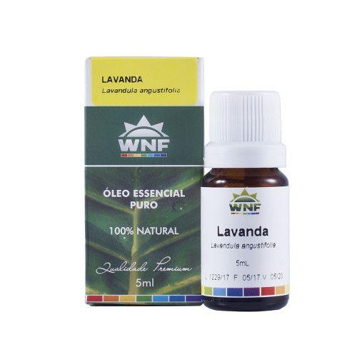 WNF- Óleo Essencial Lavanda Brasil 5ml (lavandula off. ssp dentata)
