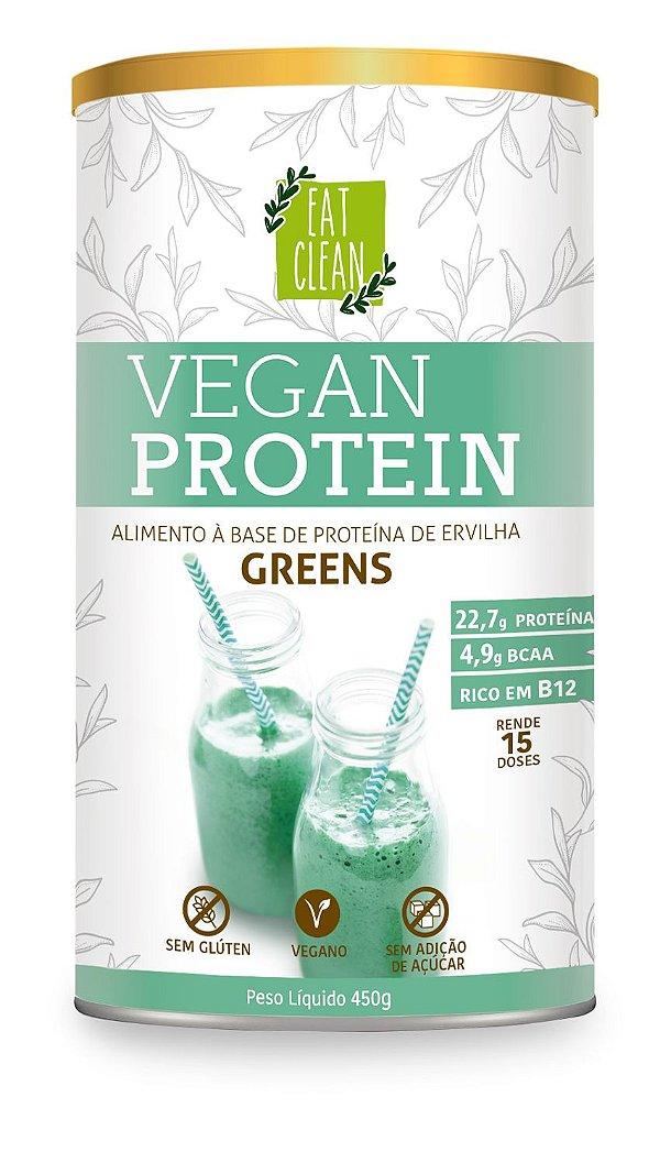Proteína Vegana - Vegan Protein Greens Eat Clean - 450g
