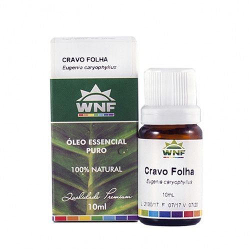 Óleo essencial de cravo e folha WNF - 10ml