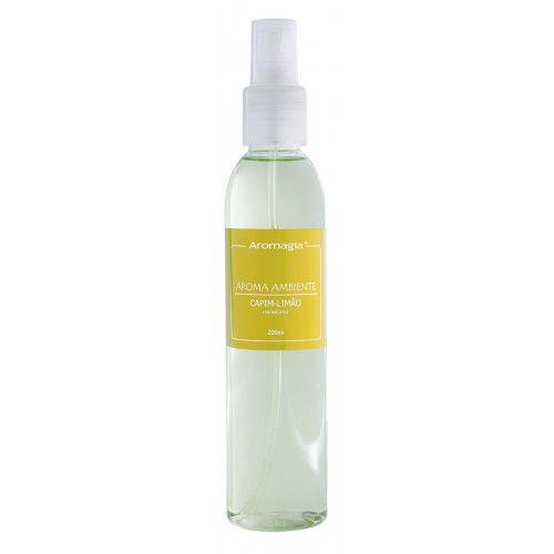 Aromagia - Aromatizador de Ambiente (Spray) Capim Limão- 200ml