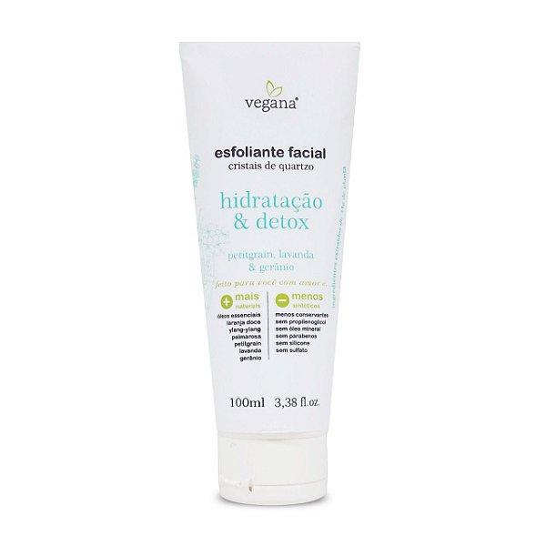 Esfoliante Facial Hidratação E Detox 100ml – Linha Vegana
