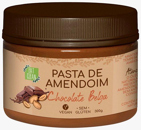 Pasta amendoim chocolate belga 300g