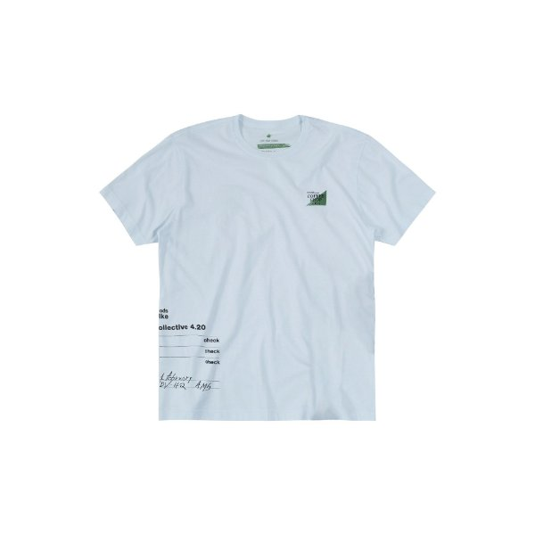 Camiseta Masculina Manga Curta Coffee Shop Von der Volke - Branco