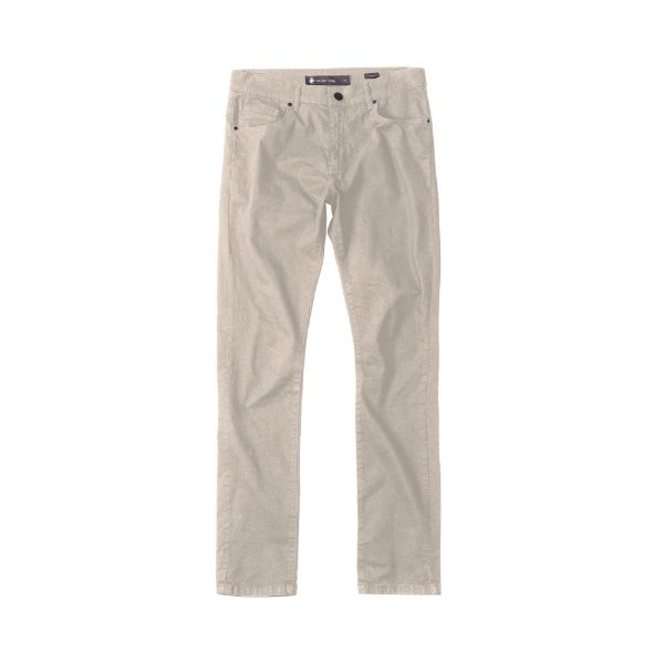 Calça de Sarja Masculina Skinny 5 Pockets Sarja Color - Caqui