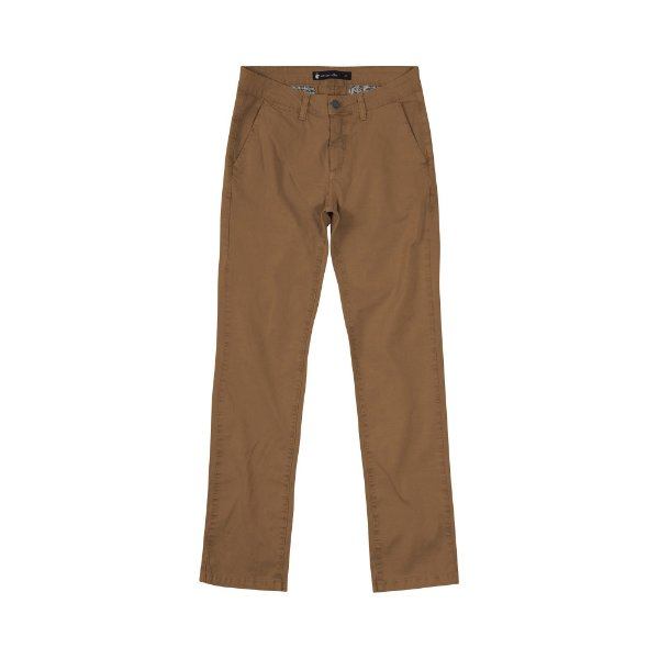 Calça de Sarja Masculina Skinny Chino Tulpen - Marrom