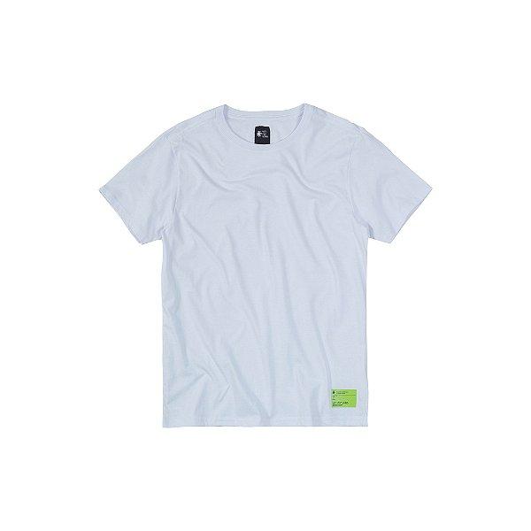 Camiseta básica masculina com elastano - Branco
