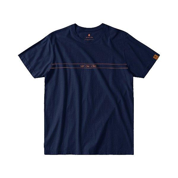 Camiseta Masculina Manga Curta ESSENTIAL - MARINHO